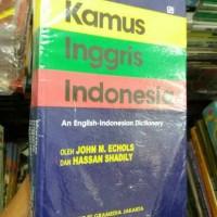 kamus ingris indonesia by jhon echols