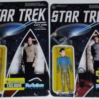 Star Trek Funko ReAction Kirk & Spock Figures