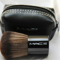 KABUKI MAC 182 Brush - KABUKI MAC DOMPET KUAS KOIN ( Make Up Kit )