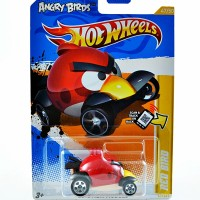 Diecast Special Edition Angry Birds Red Bird Hot Wheels