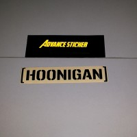 (stiker) sticker hoonigan mustang racing