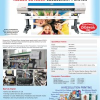 Ecosolvent DX7 Printer - Indoor & Outdoor Large Format Printing