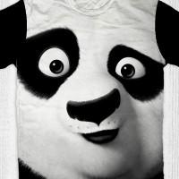 Jual Kaos Kungfu Panda - Po Face Murah