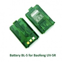 Battery Baofeng UV-5R ARMY Loreng Hijau - Weierwei Firstcom Berlin
