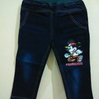 Celana Panjang Jeans Anak Import Mickey Size 1t, 2t