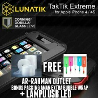 CASING LUNATIK TAKTIK EXTREME HARDCASE COVER IPHONE 4 / 4S /4G