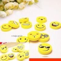Penghapus / Eraser Kecil Mini Gambar Motif Emoticon Emotikon