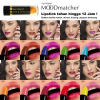 Moodmatcher Lipstick - Lipstick Unik Tahan Hinggal 12 Jam