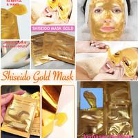 SHISEIDO GOLD / SISHEIDO / NATURGO GOLD / EMAS 24K (TANPA BOX)
