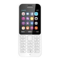 Microsoft Nokia 222 Dual Sim Putih RESMI