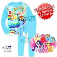 Piyama Flashing Little Pony Rainbow Dash