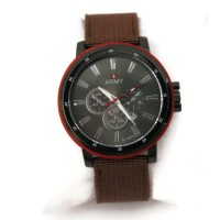 Swiss Army Leather Watch Circle- Brown