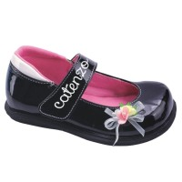 harga Sepatu Flat Anak Perempuan Catenzo Junior CHN 005 Hitam - CJR Flats Tokopedia.com