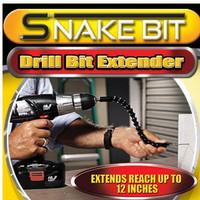 Snake Bit Drill Extender Set Alat Obeng Bor Dinding Serbaguna