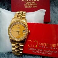 jam tangan PRIA ori anti air analog D-ZINER mirage rolex alba N25