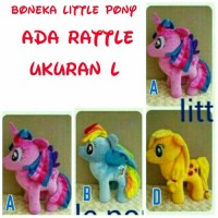 Jual Boneka Rattle My Little Pony Besar L M13B Murah