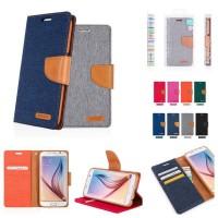 Mercury Canvas Diary Wallet Folio Case XiaoMi RedMi Note 3 /Note 3 Pro