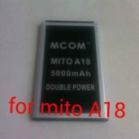baterai mito A18 double power merk mco.