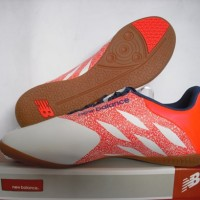 sepatu futsal New balance merah / ungu grade ori import
