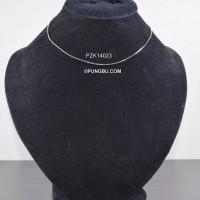 harga Kalung anak putih model belut PZK14023 panjang 35cm Tokopedia.com