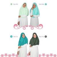 Hijab Alsa Berry Bergo Kaos Size XS-S