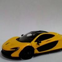Motormax McLaren P1, skala 1:24, Kuning.
