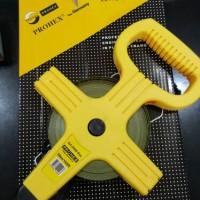 harga Meteran, Meteran Roll Baja, Long Steel Tape Prohex 50 M Tokopedia.com