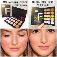 [ ukuran besar ] Contour Cream 15 colour Series MN Pallette series