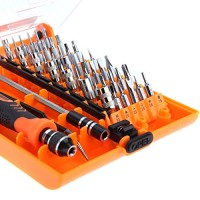 Jakemy Interchangeable Magnetic 45 In 1 Precision Screwdriver Professi