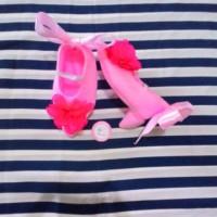 Harga sepatu bayi prewalker heels pink   WIKIPRICE INDONESIA