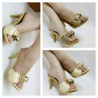harga High Heel Brukat Grosir Supplier Sepatu Sandal Wanita Termurah Tokopedia.com