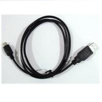 Kabel Micro Usb 1Mtr Full Copper Hitam untuk BB