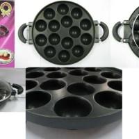 Jual Jual cetakan kue takoyaki 15 lubang / super kitchen takoyaki Murah