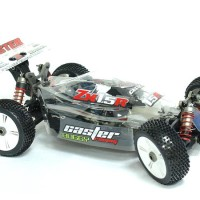 RC CAR/MOBIL PRO KIT Caster 1/8th Nitro Buggy PRO Clear Body/engine