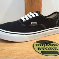 harga Sepatu Vans Authentic Black White Dt Original Premium Quality Tokopedia.com