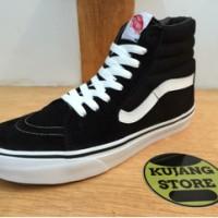 harga Sepatu Vans Sk8 Black White Dt Original Premium Quality Tokopedia.com