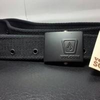 Ikat Pinggang Volcom Webbing Belt Black Scout Series Original