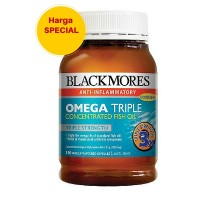 Blackmores Omega Triple Concentrated Fish Oil 150 caps