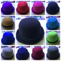 topi bowler hats tompi chaplin polos anak dewasa