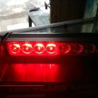 LAMPU SIRINE STROBO DASHBOARD Tempel di Kaca Mobil Colok ke Lighter