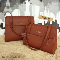 Kate Spade Cedar Street Luciana Large Brown (Import Quality)