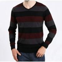 Jual Sweater brother joey V Neck Zigzag 4 ukuran Murah