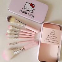 Hello Kitty Brush Set / Kuas Set isi 7 pcs