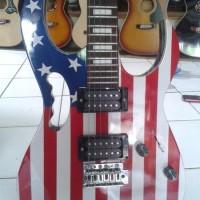 Gitar Ibanez RG USA Flag Keren Abissss