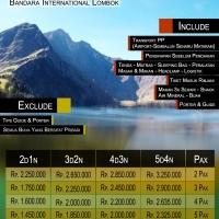 Paket Wisata Pendakian Gunung Rinjani Lombok