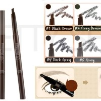 ETUDE HOUSE EYEBROW DRAWING WITH PENSIL ALIS PENCIL BROW 2IN1 PINSIL