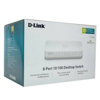 D-Link Switch / Hub 8port 10/100mbps DES-1008A / DES 1008A