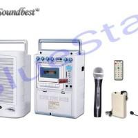 harga Speaker Portable Amplifier Wireless Soundbest Sb 330 Tokopedia.com