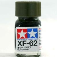tamiya enamel XF-62 Olive Drab - Gundam model Kitt paint