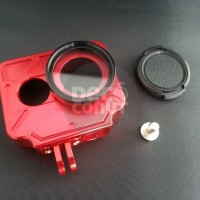Aluminium Protective Case For Xiaomi Yi Action Camera (With Lens Cap)